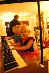 12 - playing piano