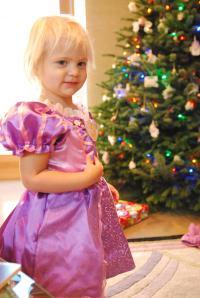13 - and a rapunzel dress