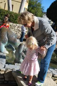 2 - Fountain with Gramma
