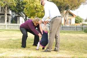 2 - playing with grandma