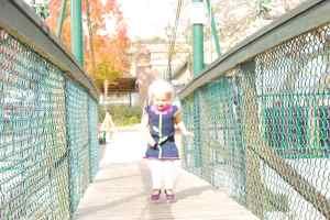 3 - jumping on bridge