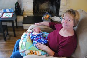 2013-03-05 grandma & asher