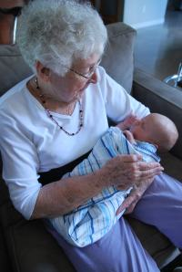 Nana and Asher meet