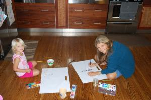 Painting with Gramma Home
