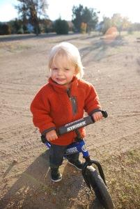 2015-11-26 Boy & his bike