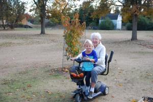 2015-11-26 Selah & Nana drive